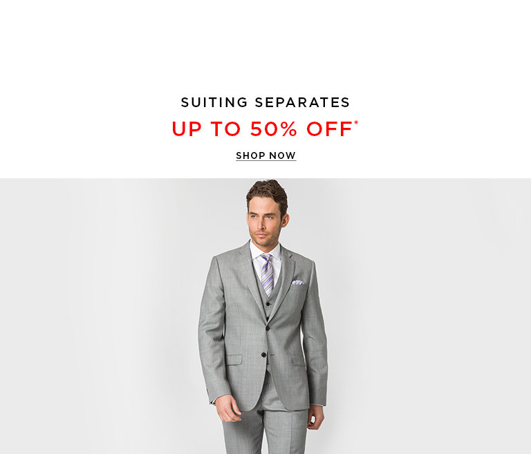 Shop Men's Suits on Sale