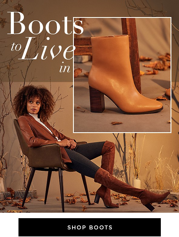 Fall's best boots are here, and you're going to love what you see.