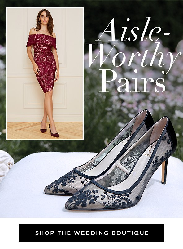Whether you're the bride, a bridesmaid or a guest, make lasting memories in these dreamy heels.