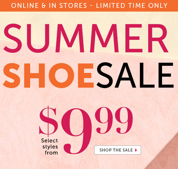 Shop Shoes on Sale