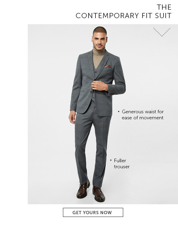Shop Contemporary Fit Suits