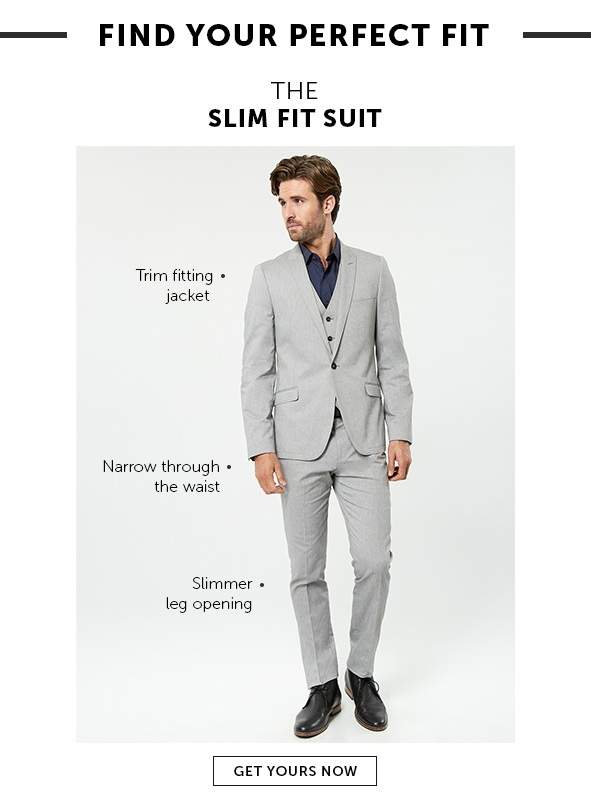 Shop Slim Fit Suits