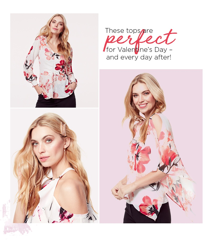 Pretty florals let your style (& love) blossom.