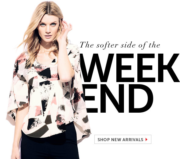Shop New Weekend Styles