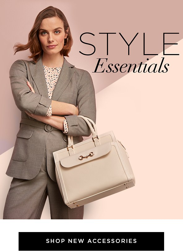 Style essentials. Good accessories make the outfit. Complete all your looks with our new arrivals. Shop New Accessories