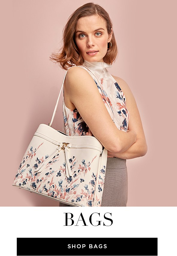 From the office to the weekend, these bags will carry you through the week. Shop Bags
