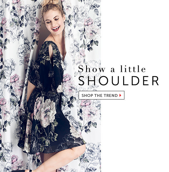 Shop the Cold Shoulder Trend