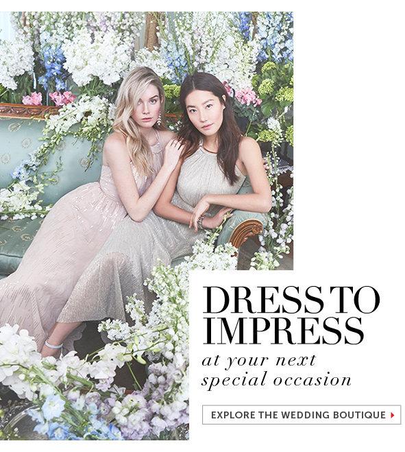 Shop Dresses for a Wedding