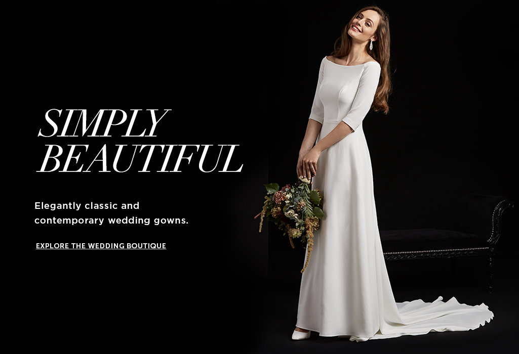 Shop Bridal, Bridesmaid, Mother-of-the-bride and Wedding Dresses