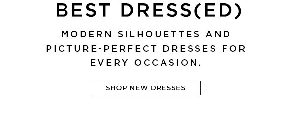 Shop Fall 2018 Dresses