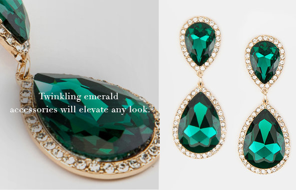 Shop Women's Fashion in Emerald