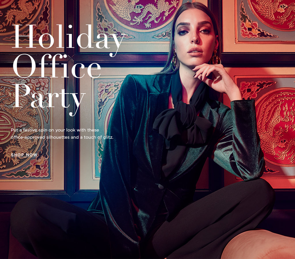 Holiday Office Party Women's Looks 2018