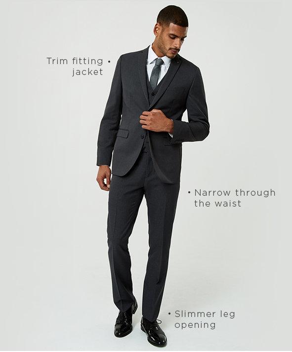 Shop Men's Slim Fit Suits