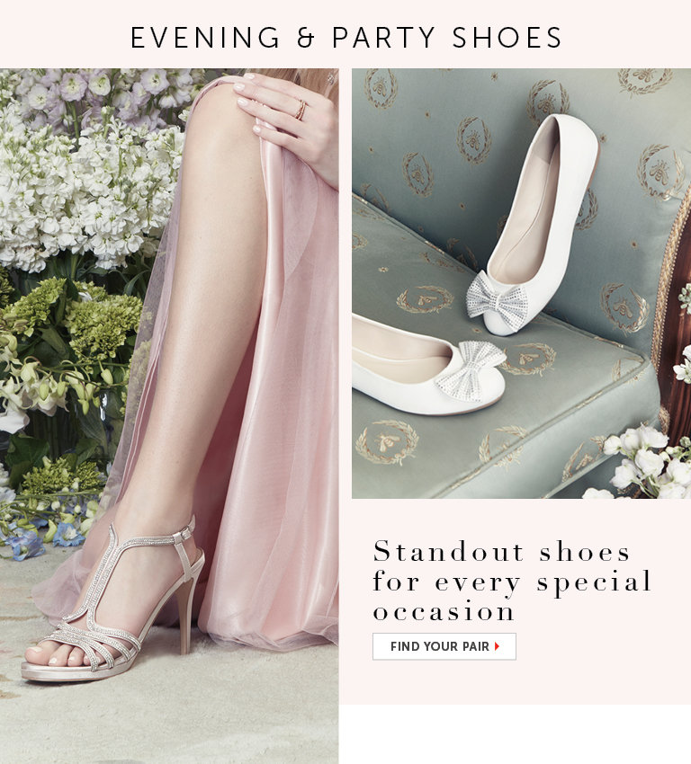 Shop Evening and Party Shoes