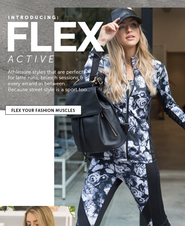 Shop the FLEX Collection