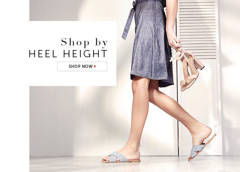 Shop by Heel Height
