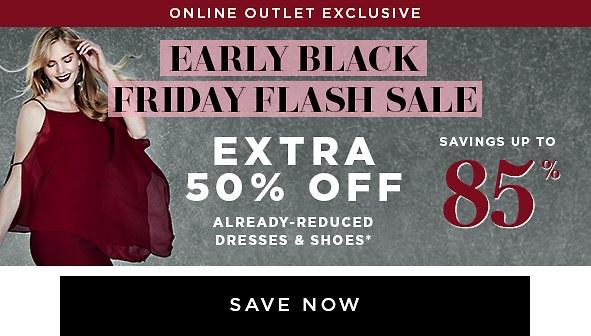 Shop The Outlet Flash Sale