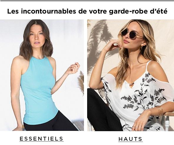 Magasinez les vêtements essentiels pour femmes