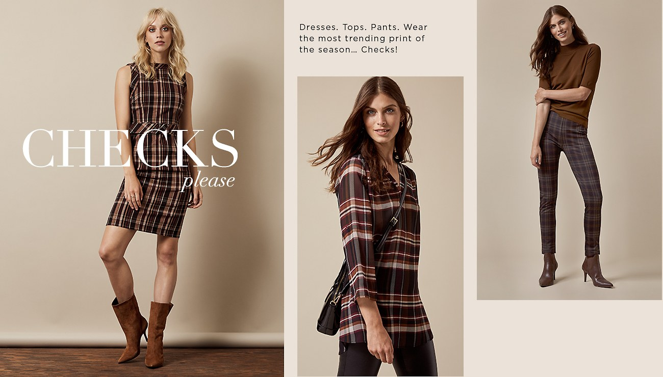 Shop the Check Trend