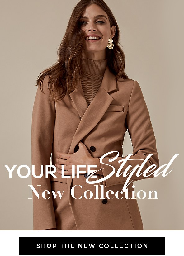 Your Life Styled. Fall Collection. Extended sizes available from 00-22W. SHOP THE ENTIRE COLLECTION >