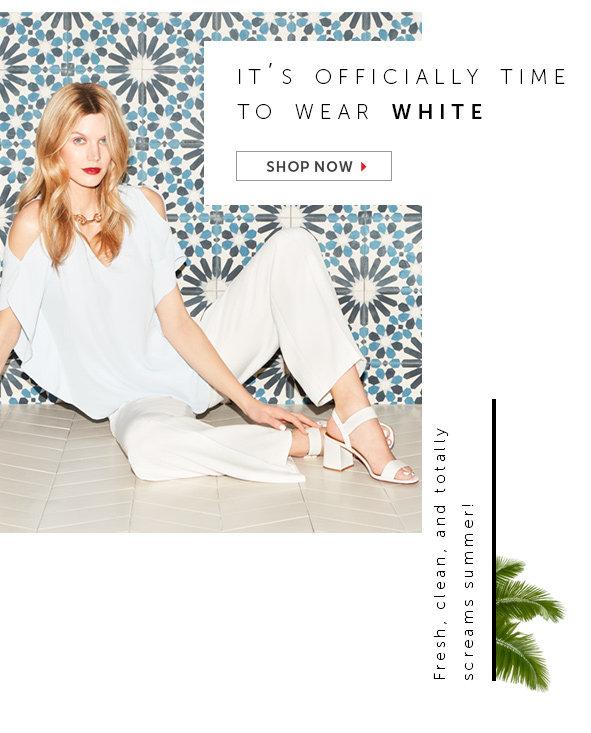 Shop White Looks for Women