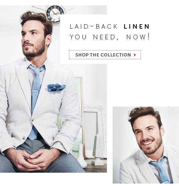 Shop Linen Suits for Men