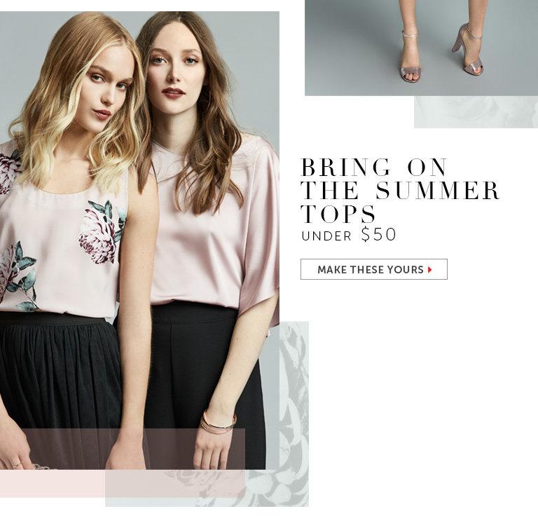 Shop Tops Under $50