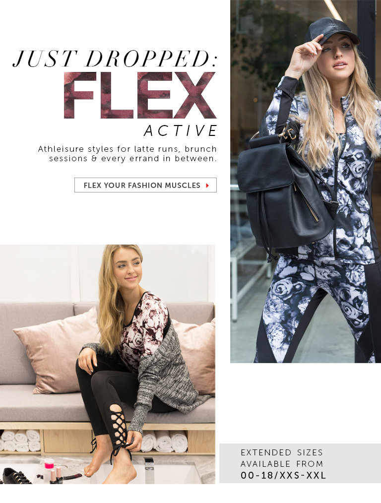 Shop the FLEX ACTIVE Collection
