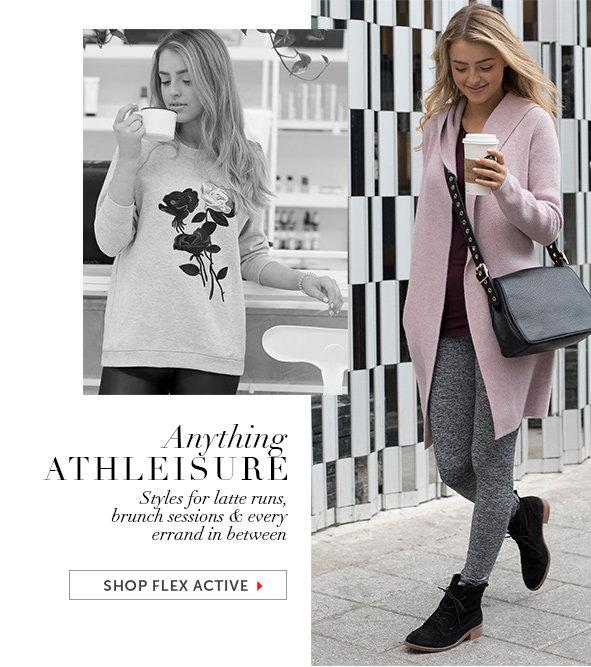 Shop the FLEX ACTIVE Collection