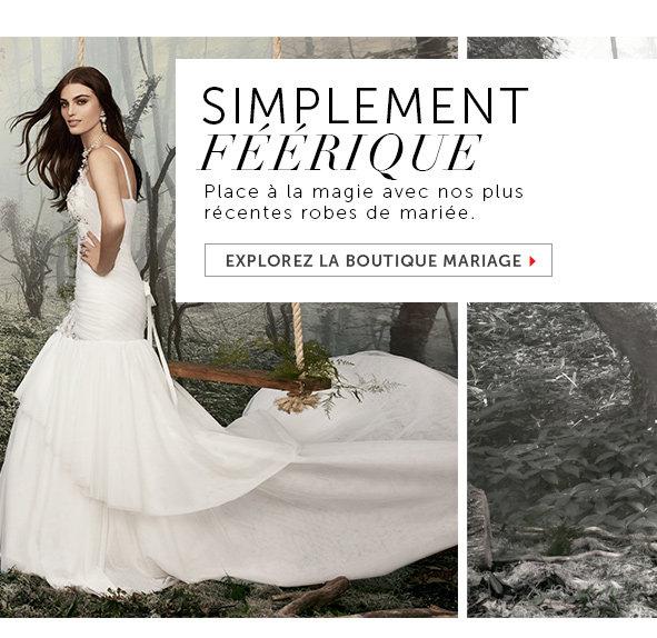 Explorez la Boutique mariage