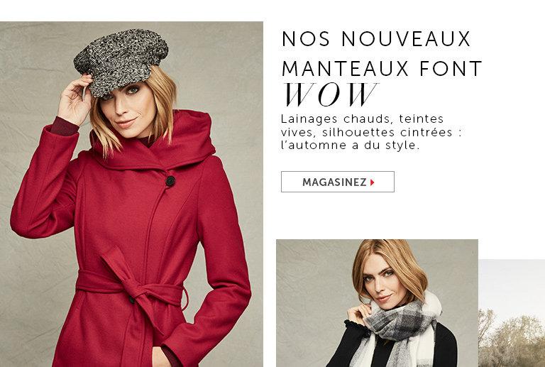 Magasinez les manteaux pour femmes