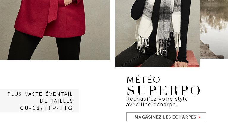 Magasinez les écharpes pour femmes