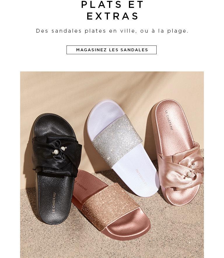 Magasinez les sandales pour femmes