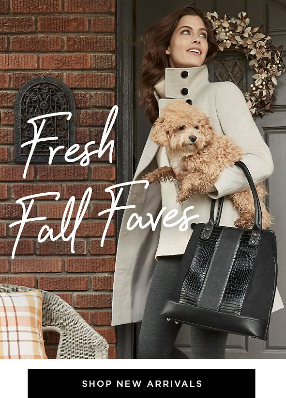 The lastest fall fashions have arrived. Gear up for chilly weather ahead with these must-have styles.