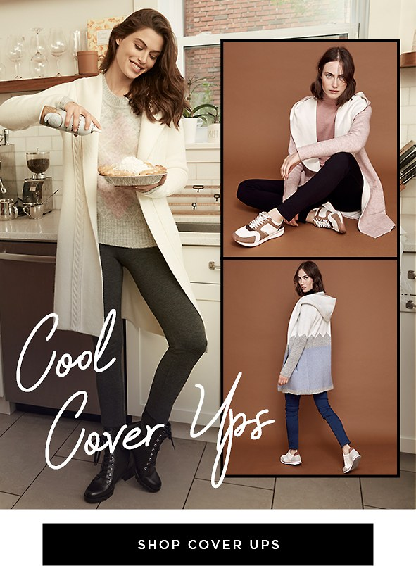 Stock up on these comfy cover ups perfect for keeping cozy no matter where you are.