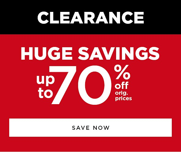 Up to 70% off orig. prices