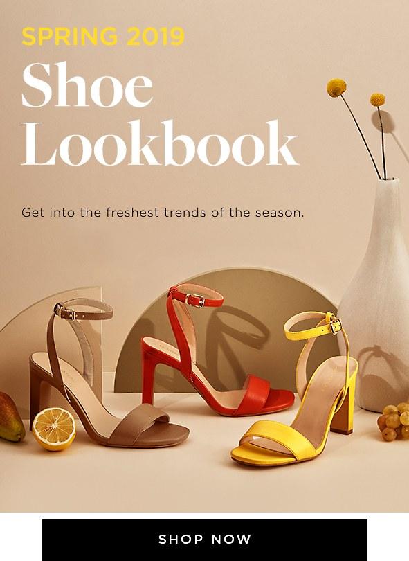 Shop Spring 2019 Shoe Trends