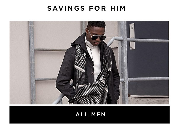 Shop the Outlet Store All Men