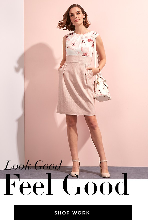 Look Good. Feel Good. Shop Work Dresses