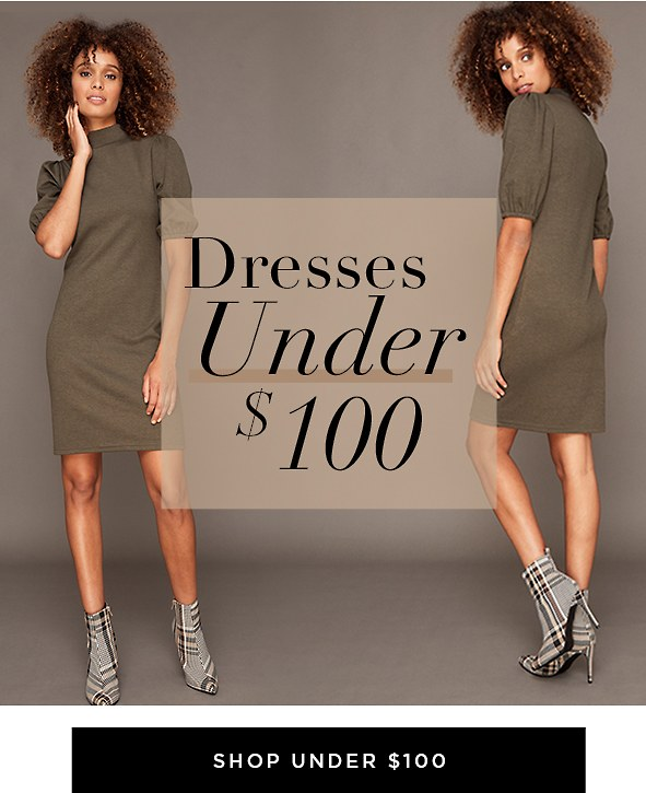 The perfect dresses at the perfect prices.