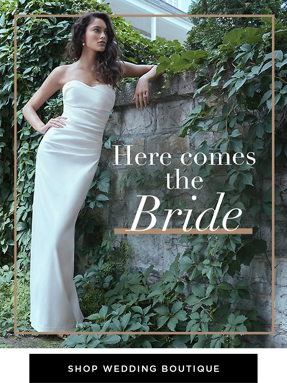 From virtual weddings to intimate affairs, we have just the gowns you're looking for.