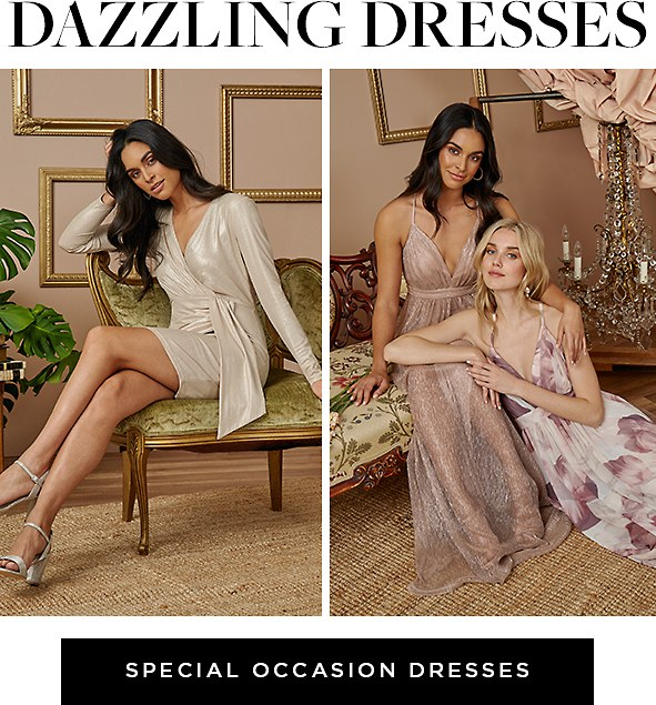 Dazzling dresses. Shop Special Occasion Dresses