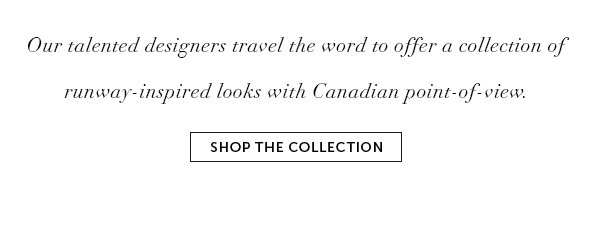 Shop the Made in Canada Collection