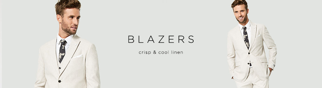 BLAZERS - Crisp & cool linen