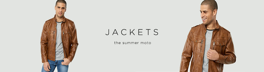 JACKETS - The summer moto