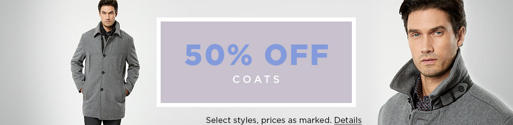 Shop Men's Coat on Sale