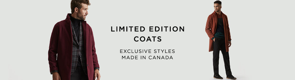 Coats. Limited edition.