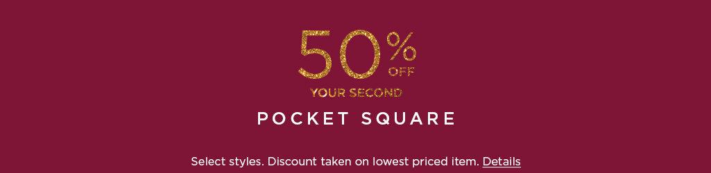 Shop Pocket Square on Sale