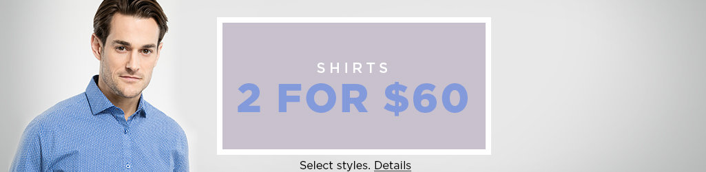 Shop Men's Shirts Sale