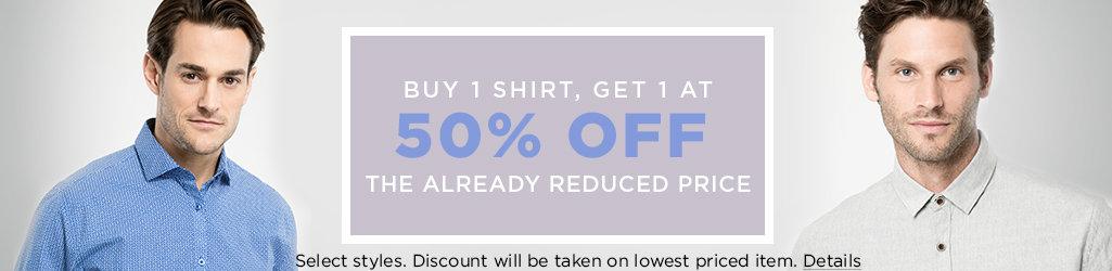Shop Men's Shirts on Sale